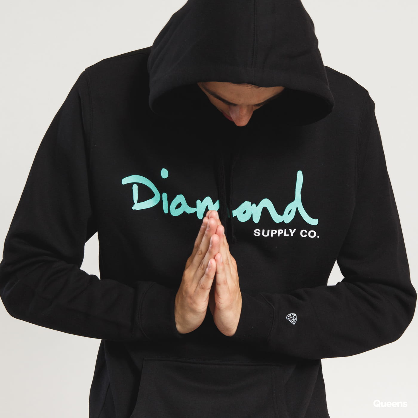 Diamond Supply Co. OG Script Hoodie schwarz