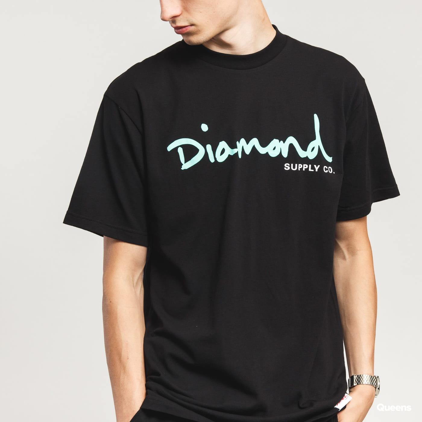 Diamond Supply Co. OG Script Tee čierne