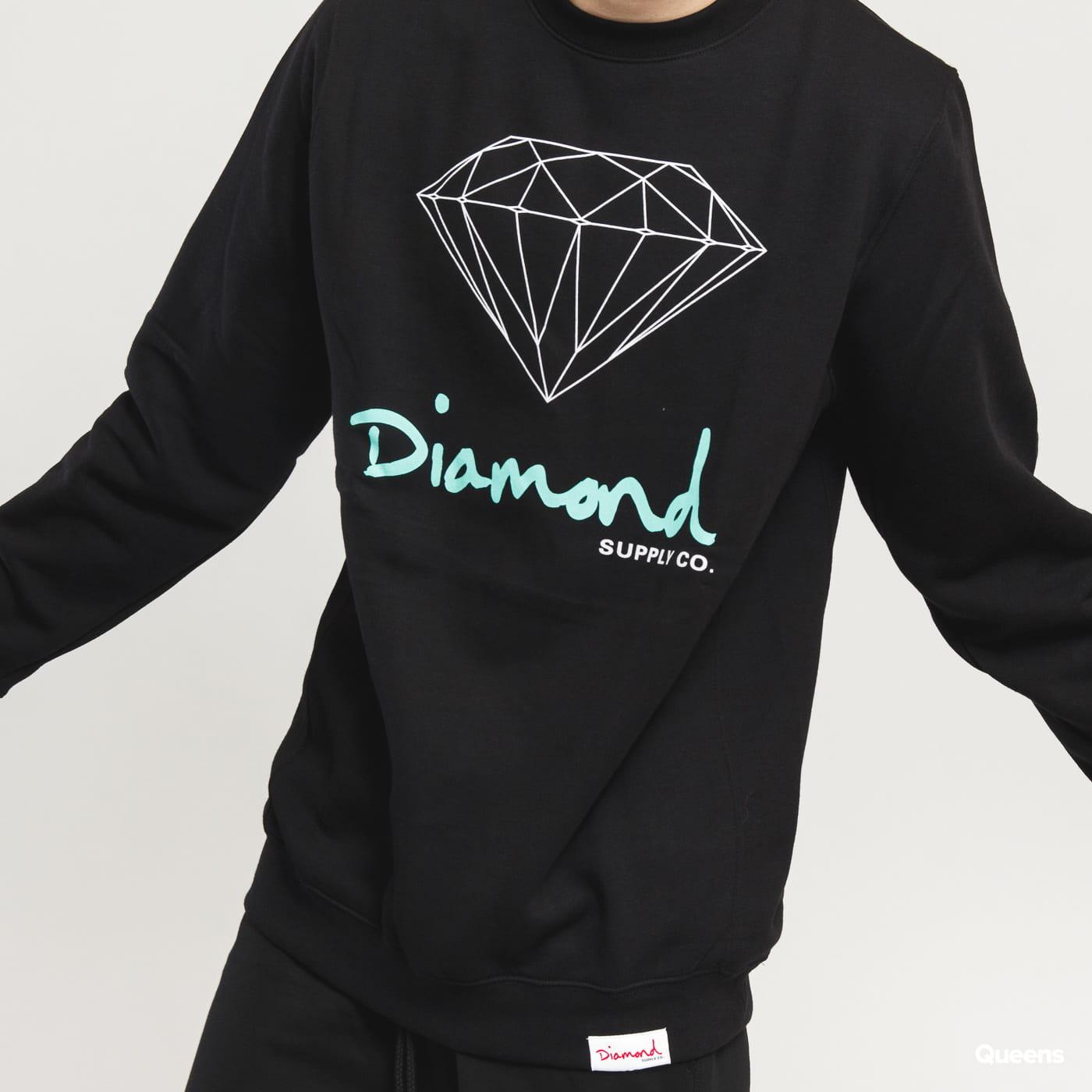 Diamond Supply Co. OG Sign Crewneck čierna