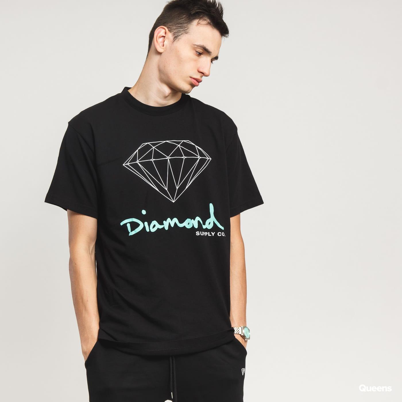 Diamond Supply Co. OG Sign Tee čierne