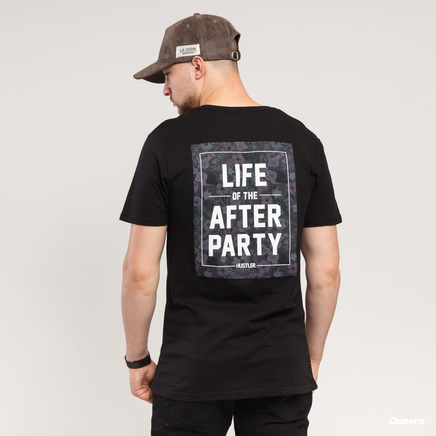 Urban Classics Hustler Afterparty Tee čierne