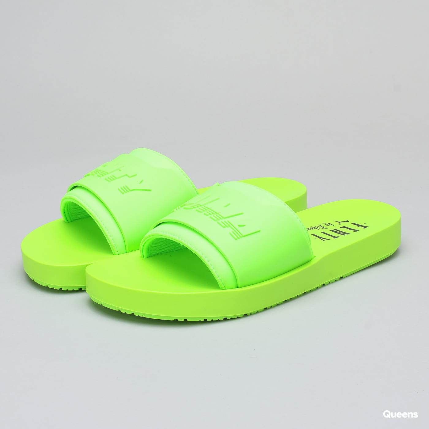 newest b9351 a1a8a Puma Fenty by Rihanna Surf Slide Wn's green gecko - green gecko