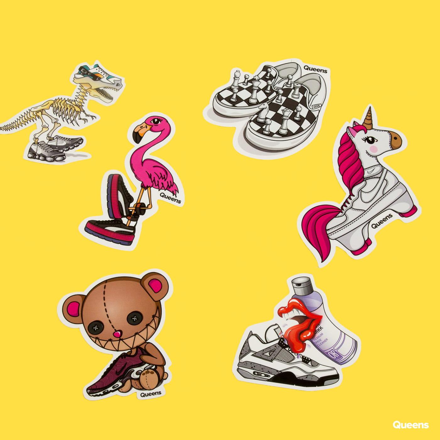 Queens Pablo Penguin Stickers