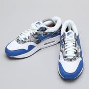 Nike Air Max 1 Print white / game royal - neutral grey