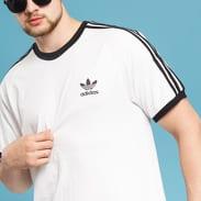 adidas 3-Stripes Tee bílé