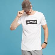 Urban Classics Hustler Box Logo Tee bílé