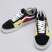 Vans Old Skool (flame) black