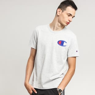 Champion Embroidered Mid Logo Crewneck Tee