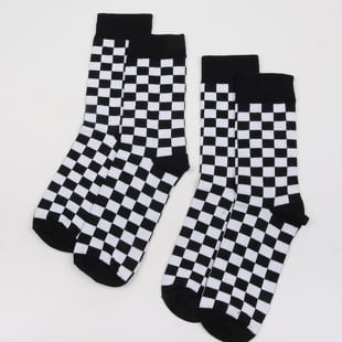 Urban Classics Checker Socks 2-Pack