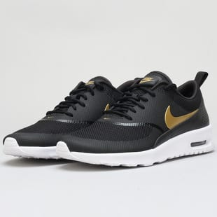 5e1bf4af9ef Nike WMNS Air Max Thea J black   metallic gold - white