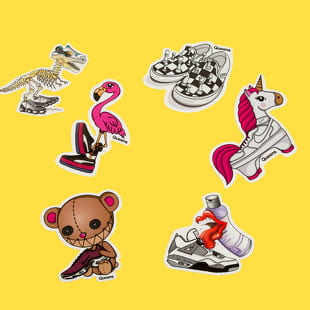 Queens Pablo Penguin Sticker Pack