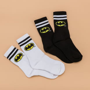 Urban Classics Batman Socks Double Pack