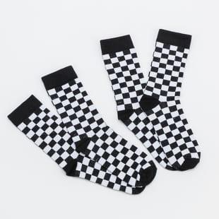 Urban Classics Checker Socks 2-Pack