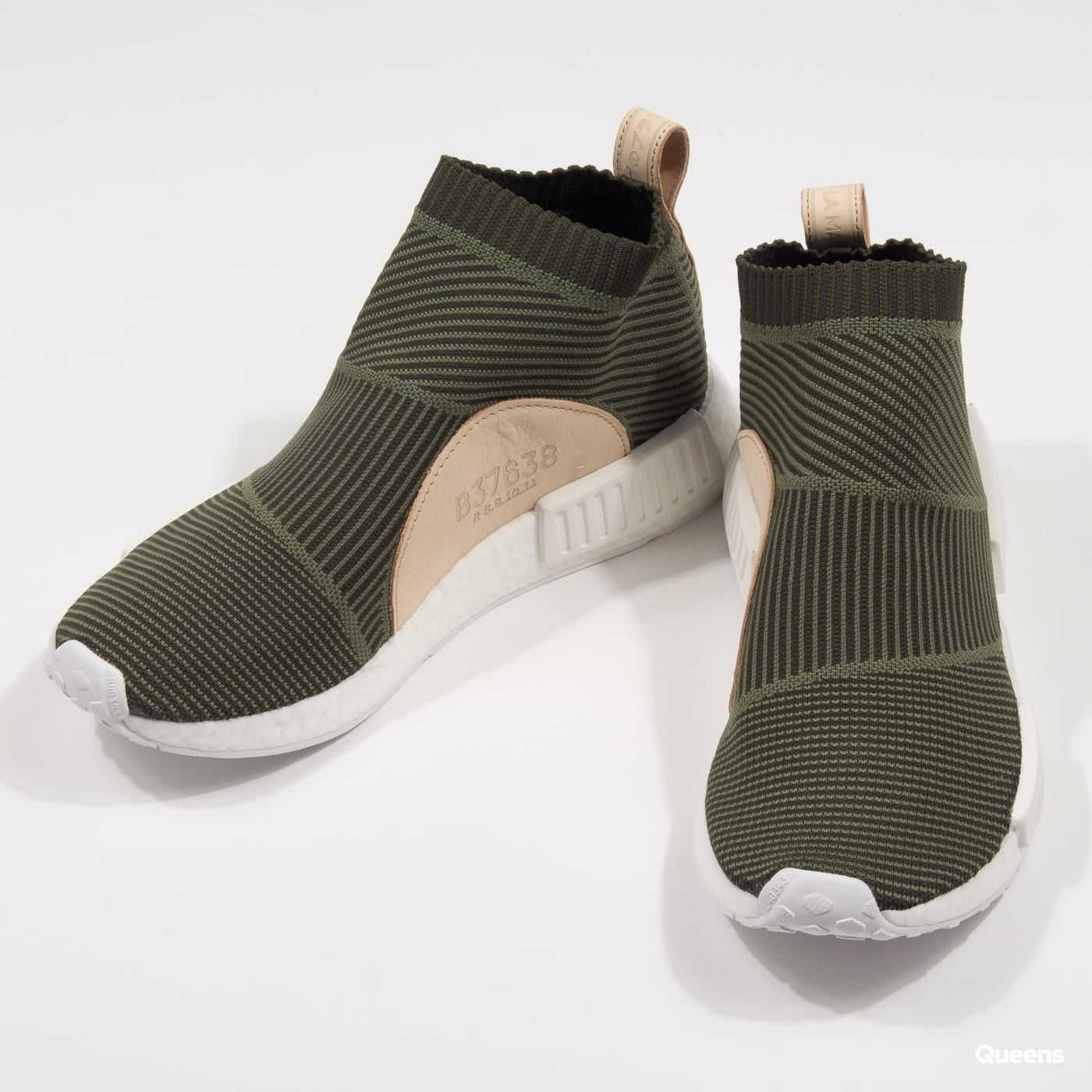 adidas Originals NMD_CS1 PK night cargo / base green / ftwwht