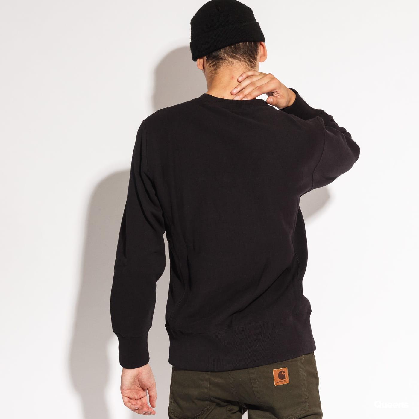 Champion Crewneck Sweatshirt čierna