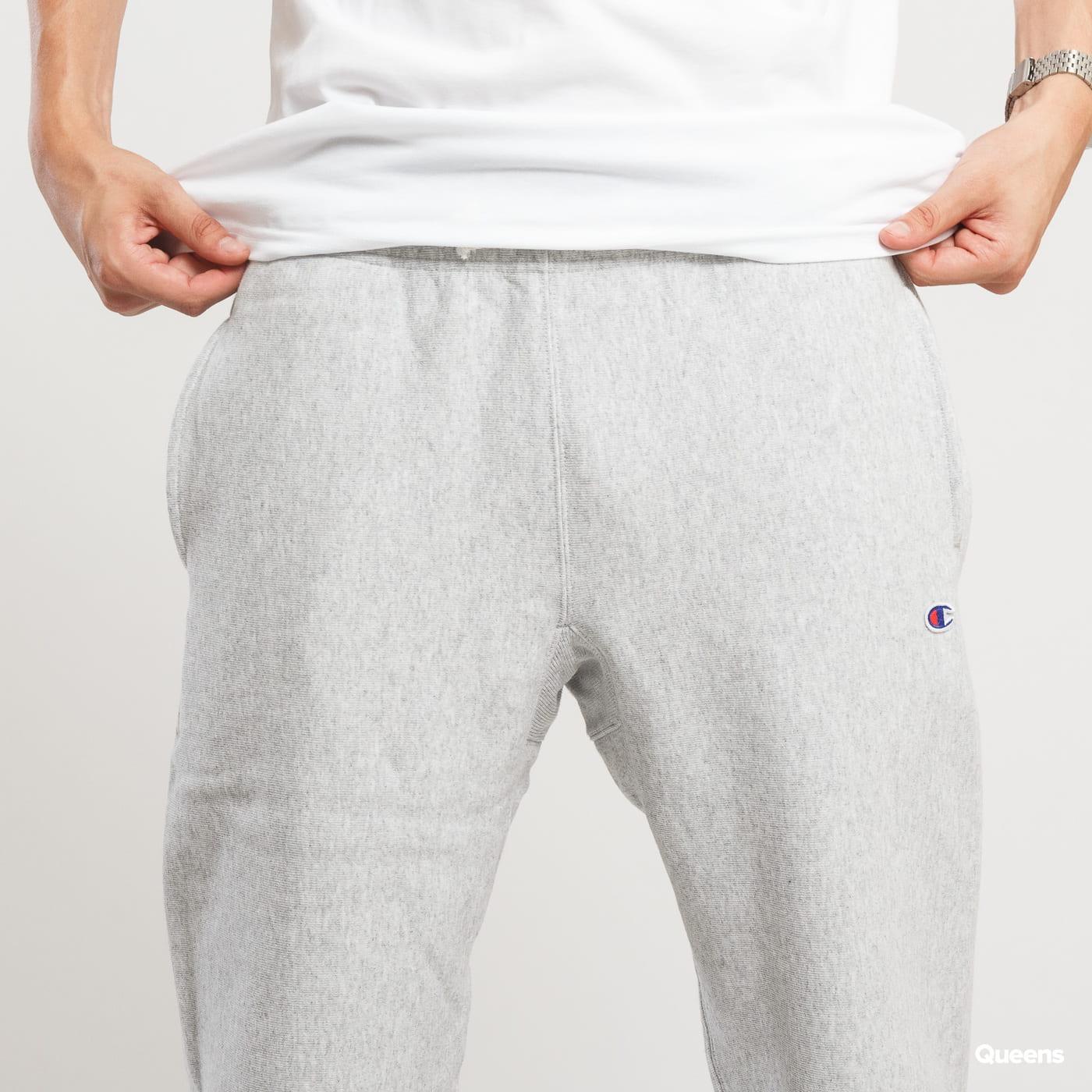 Champion Reverse Weave Sweat Pant melange šedé