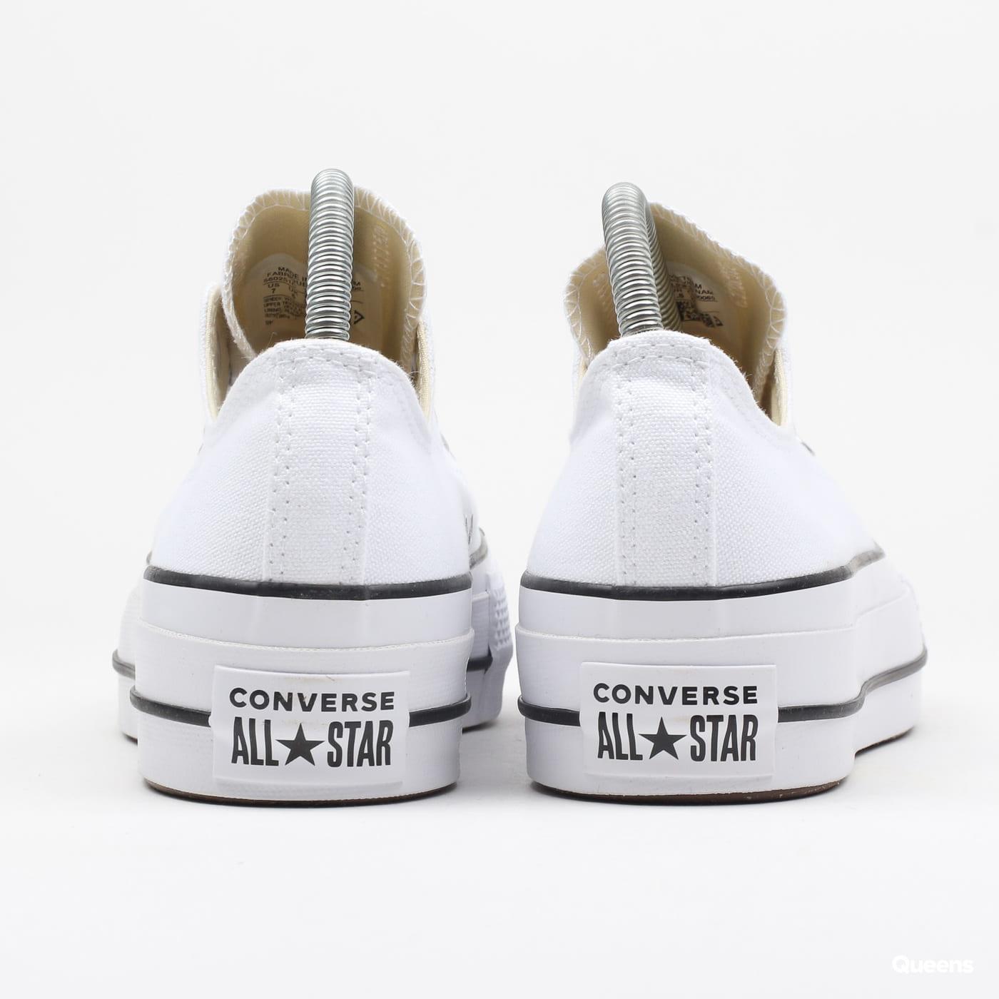 Converse Chuck Taylor All Star Lift OX white / black / white