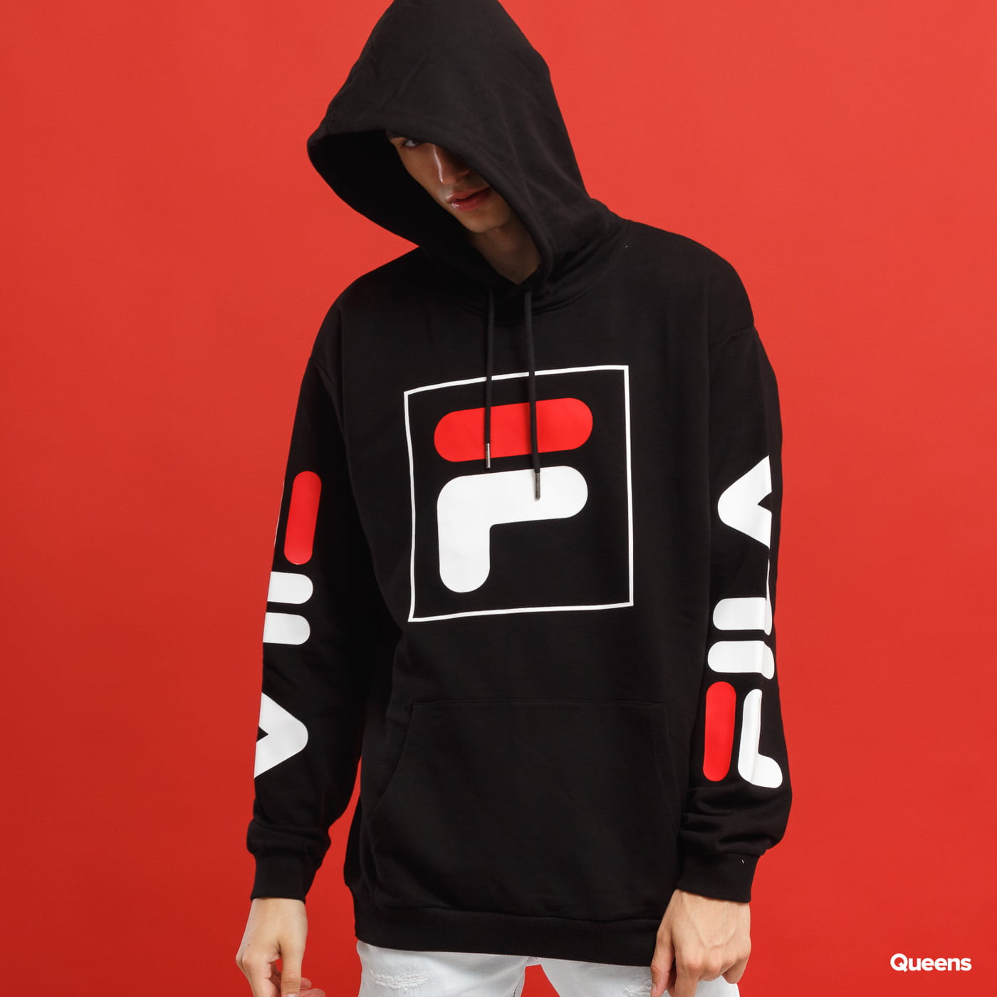 001fbac1 Fila Men Total Hood 2.0 black