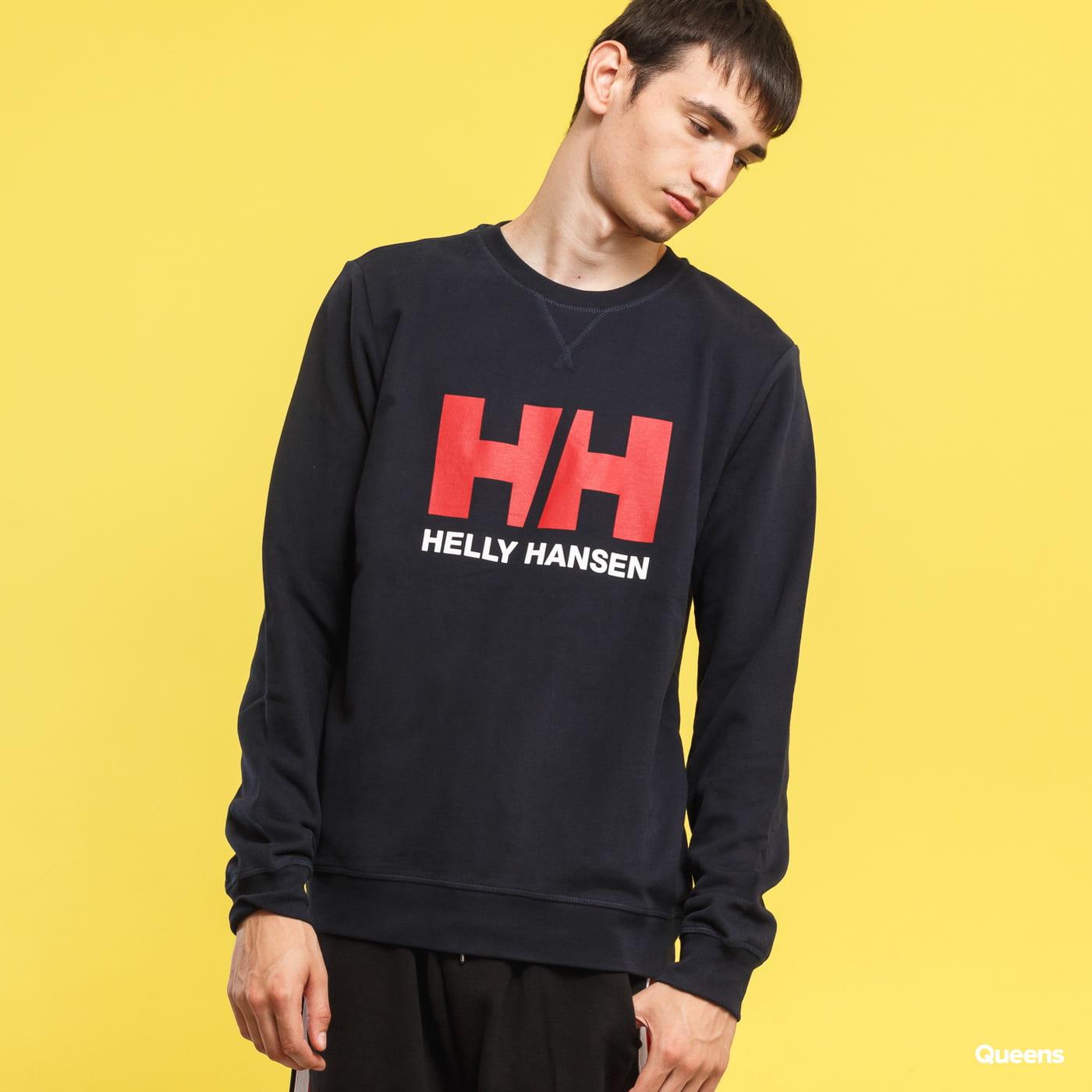 Helly Hansen Logo Crew Sweat navy