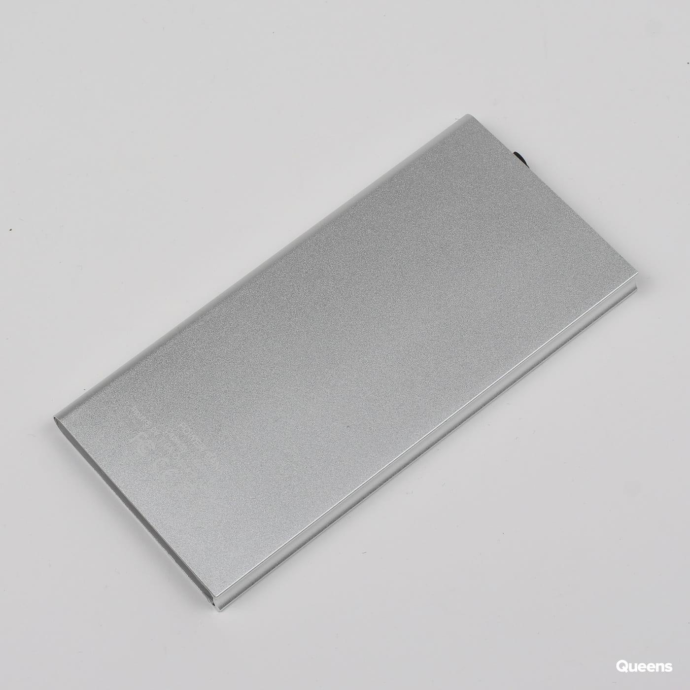 Queens Power Bank Elegance 10000 mAh Silber