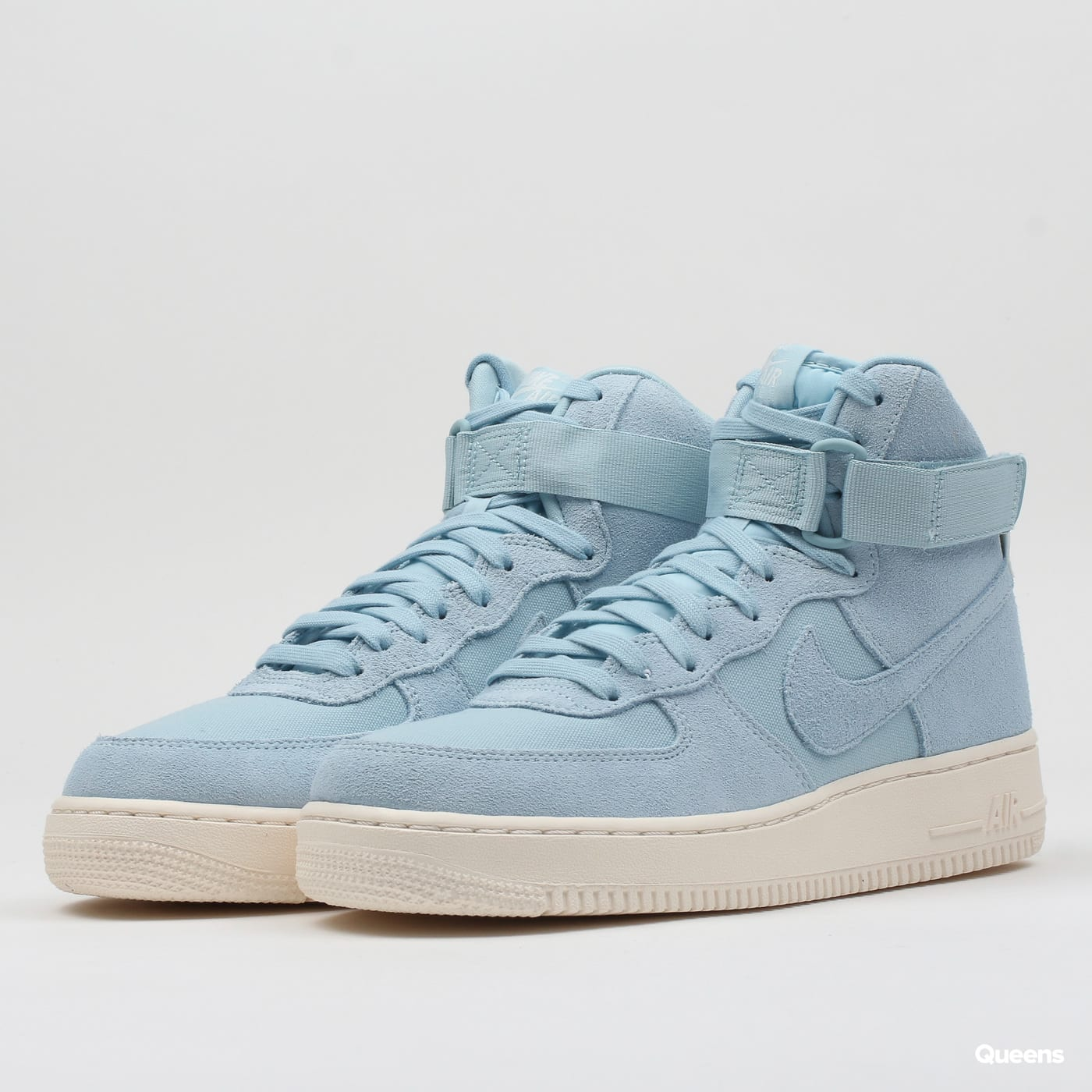 Sneakers Nike Air Force 1 High  07 Suede (AQ8649-400)– Queens 💚 1524c4e475ef
