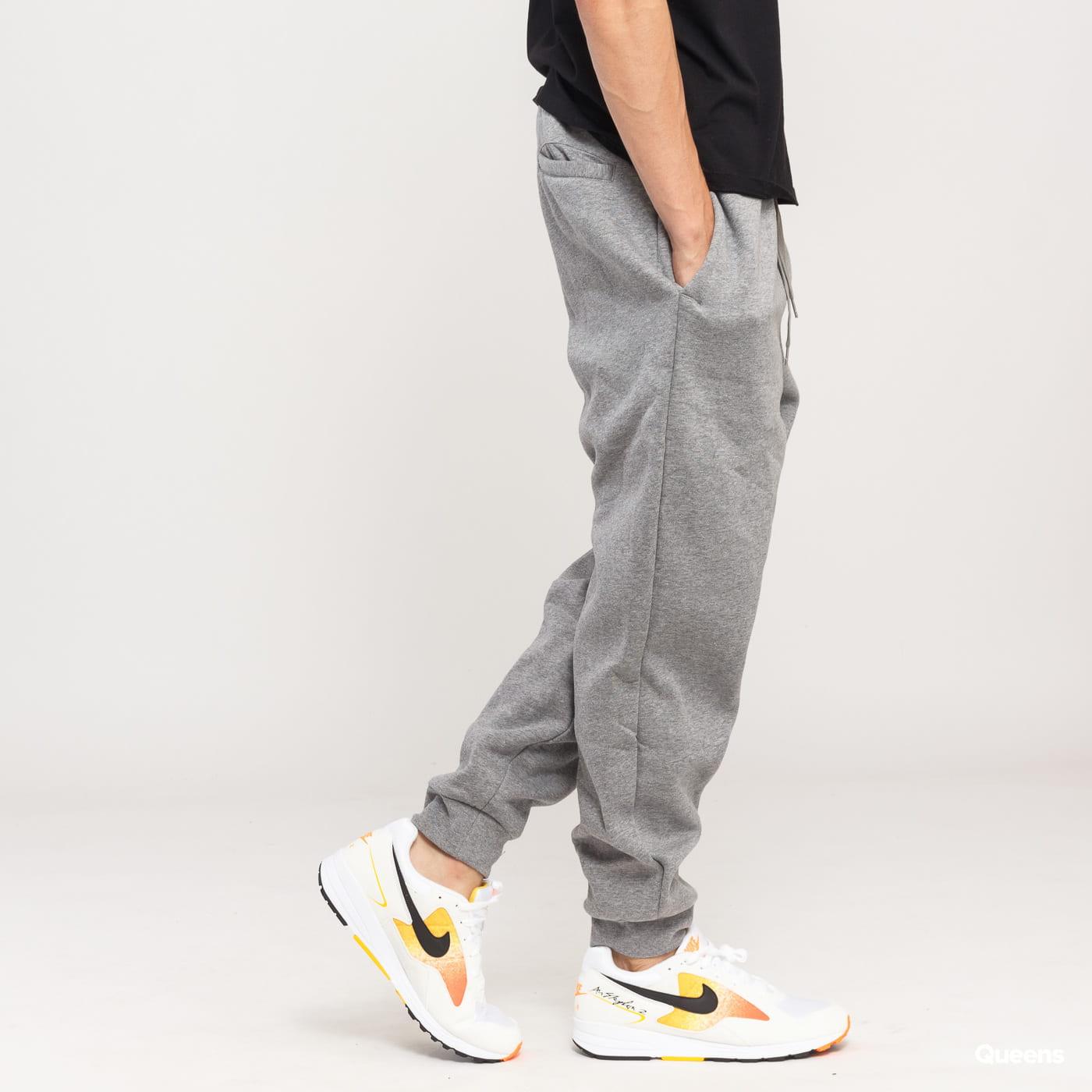 Jordan Jumpman Fleece Pant melange šedé