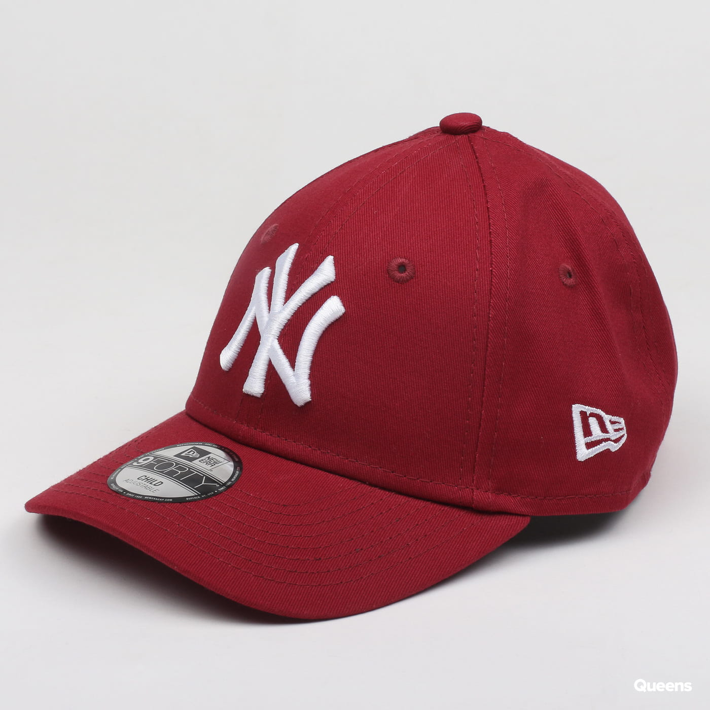 New Era 940 League Essential Child NY burgund