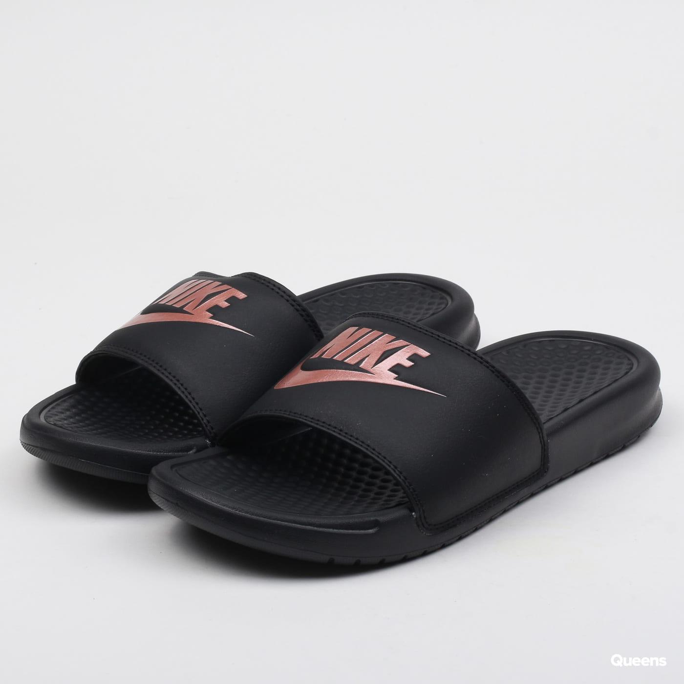 Nike WMNS Benassi JDI black / rose gold