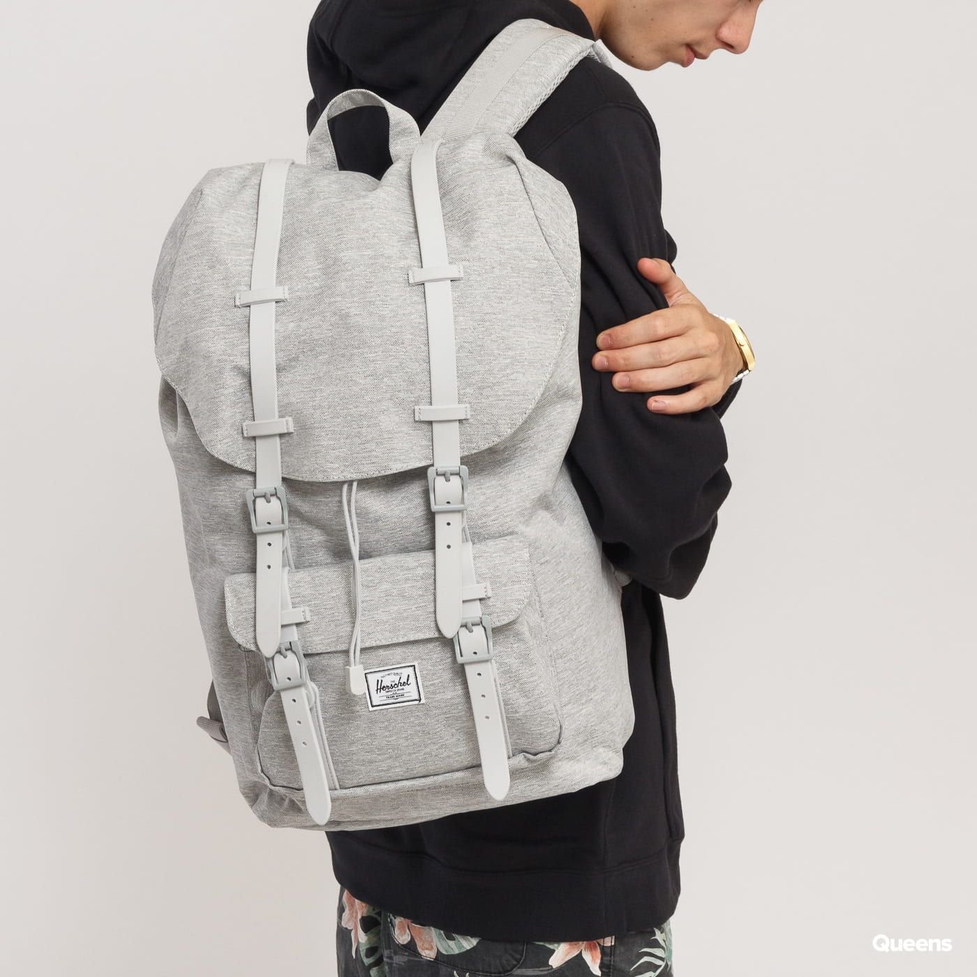 The Herschel Supply CO. Little America Backpack melange gray