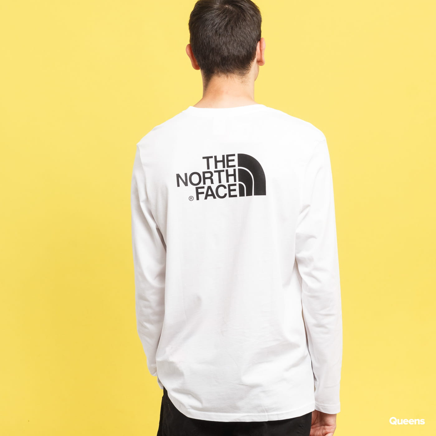 The North Face M L/S Easy Tee weiß