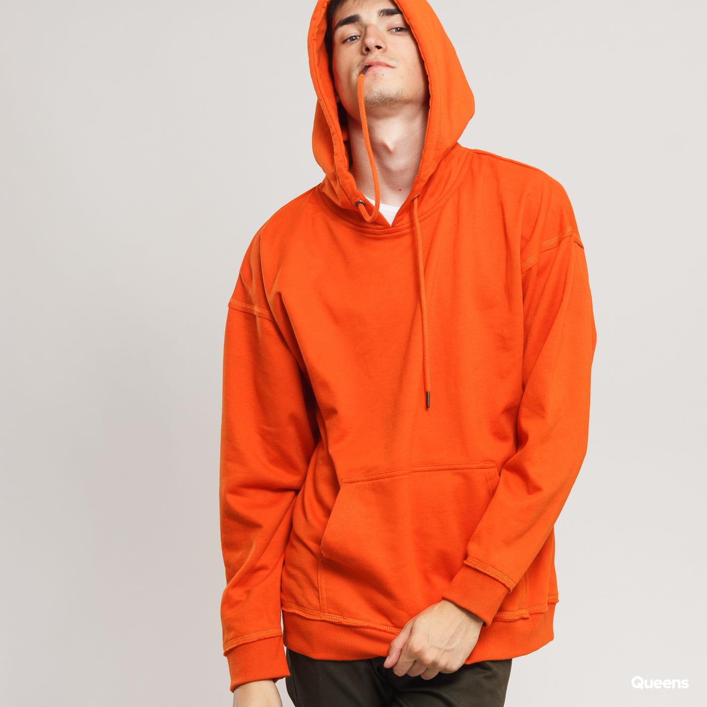 Urban Classics Oversized Sweat Hoody orange