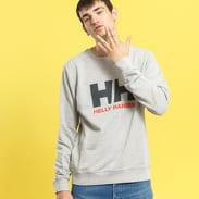 Helly Hansen Logo Crew Sweat melange šedá