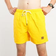Urban Classics Block Swim Shorts žluté