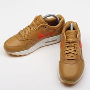 Nike WMNS Air Max 1 Premium wheat / team orange - gum yellow