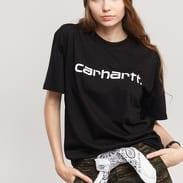 Carhartt WIP W' Script T-Shirt černé