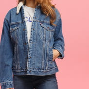 Levi's ® Exbf Sherpa Trucker addicted to love