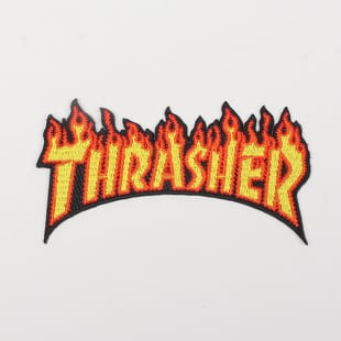 Thrasher Flame Logo Patches