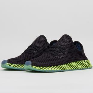 adidas Originals Deerupt Runner cblack   cblack   ashblu a0301b65a49