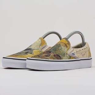 Vans Classic Slip On Vincent Van Gogh Skull Vn0a38f7u48 Queens