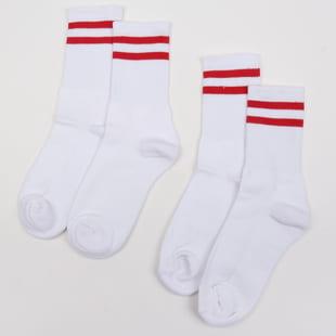 Urban Classics 2-Stripe Socks 2-Pack