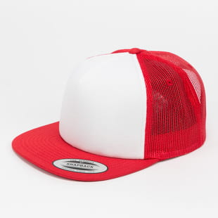 Yupoong Foam Trucker With White Front