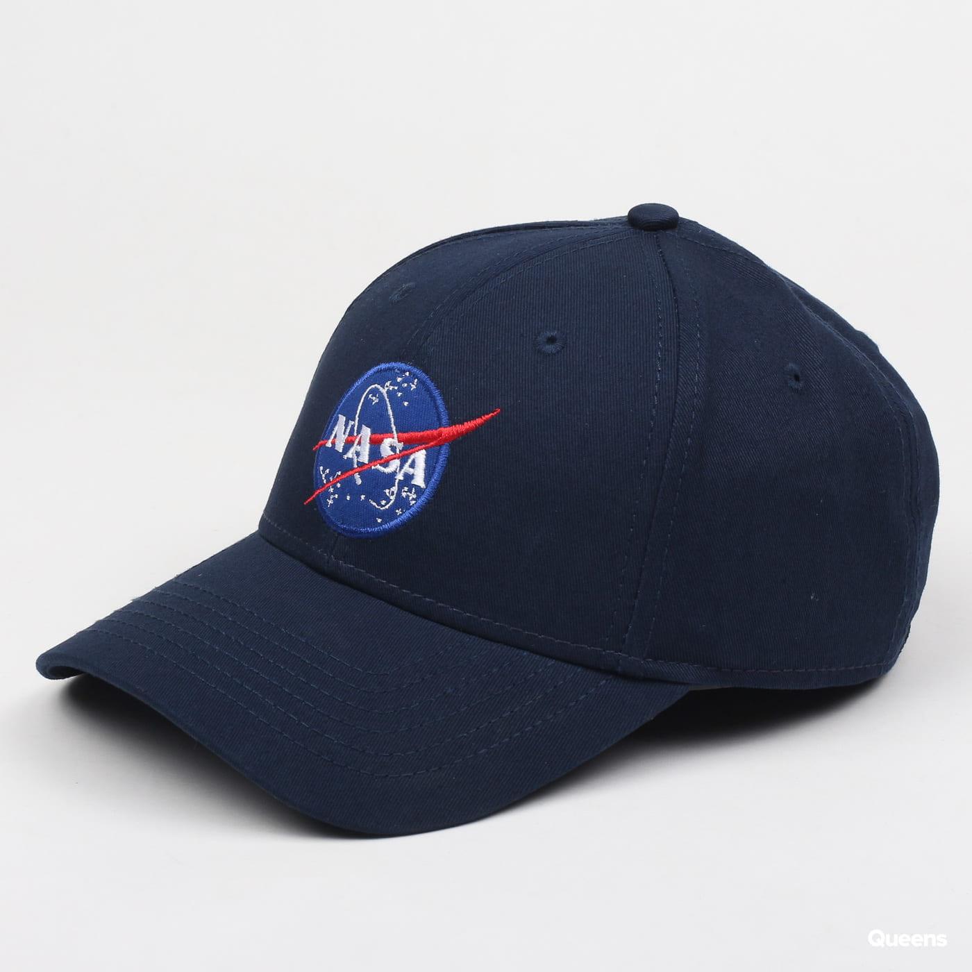 newest b5a5e 96d46 Alpha Industries NASA Cap navy