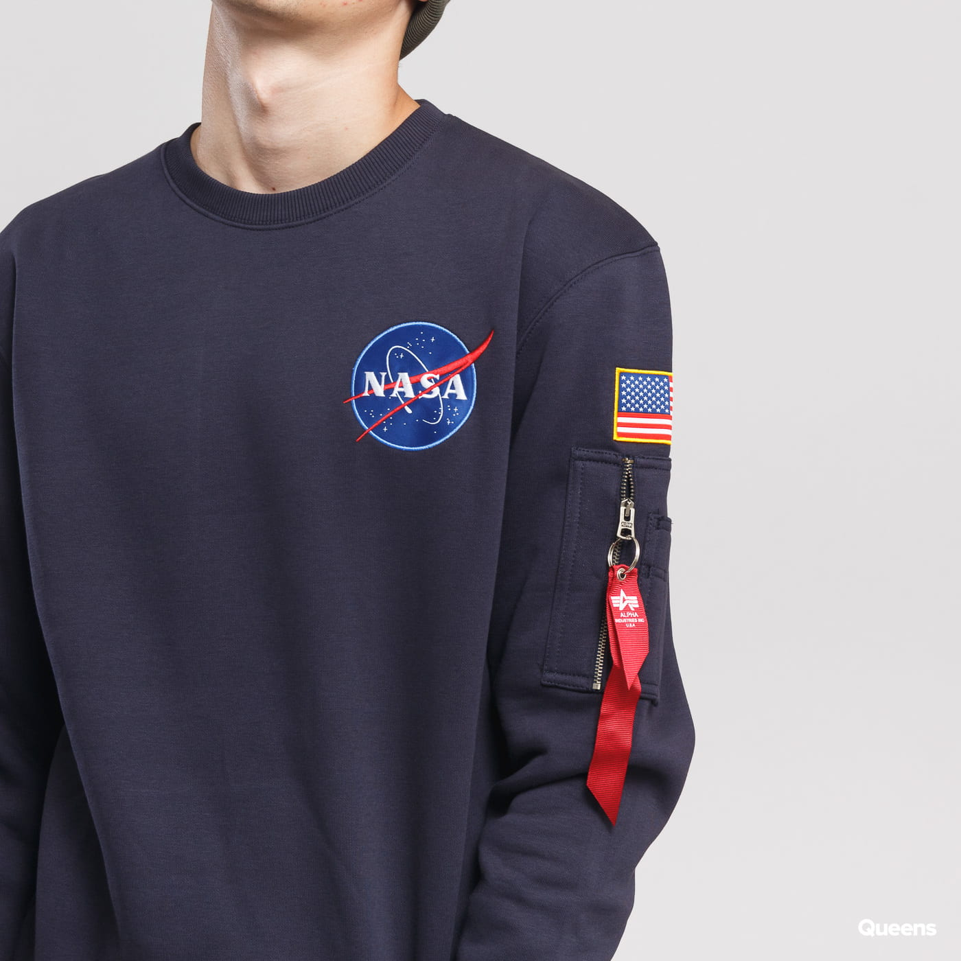 Alpha Industries Space Shuttle Sweater Marine