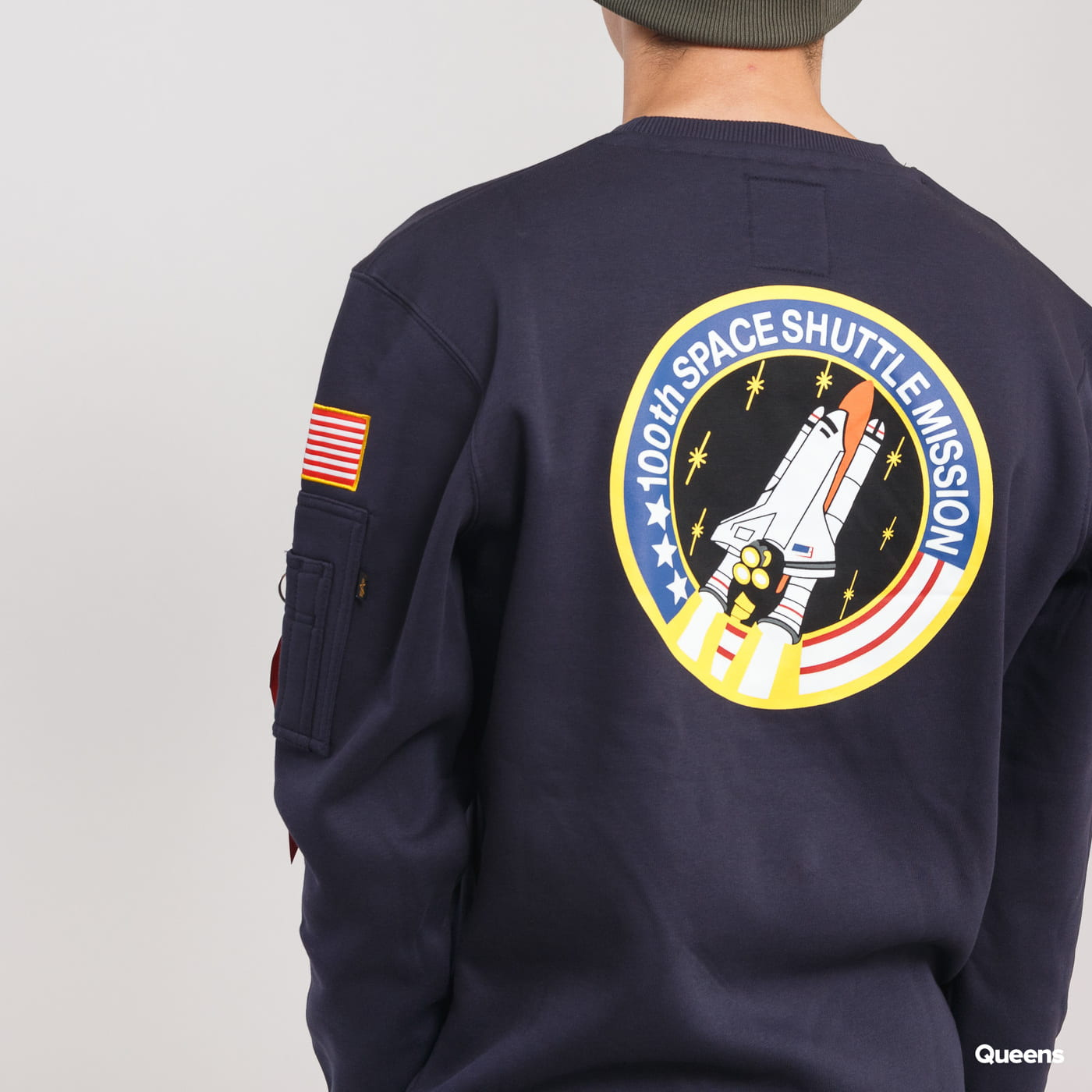 Alpha Industries Space Shuttle Sweater navy