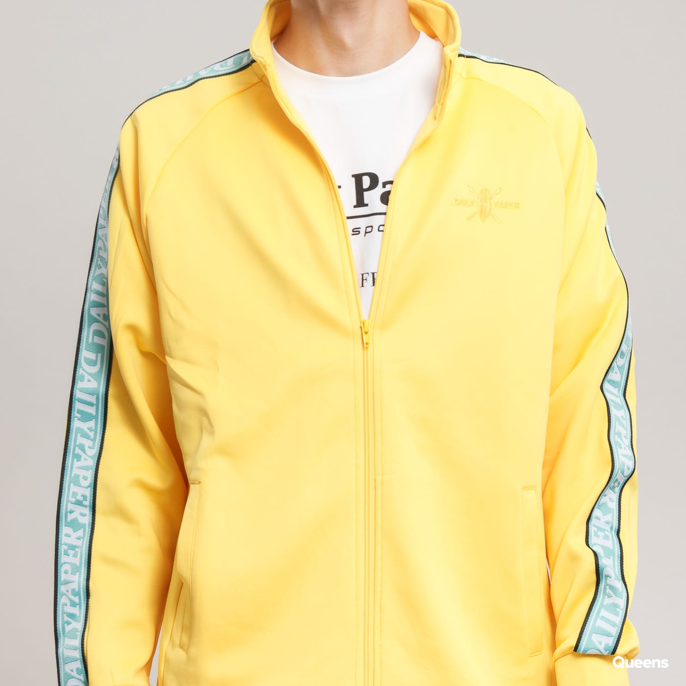 Daily Paper Dapevest Track Top gelb