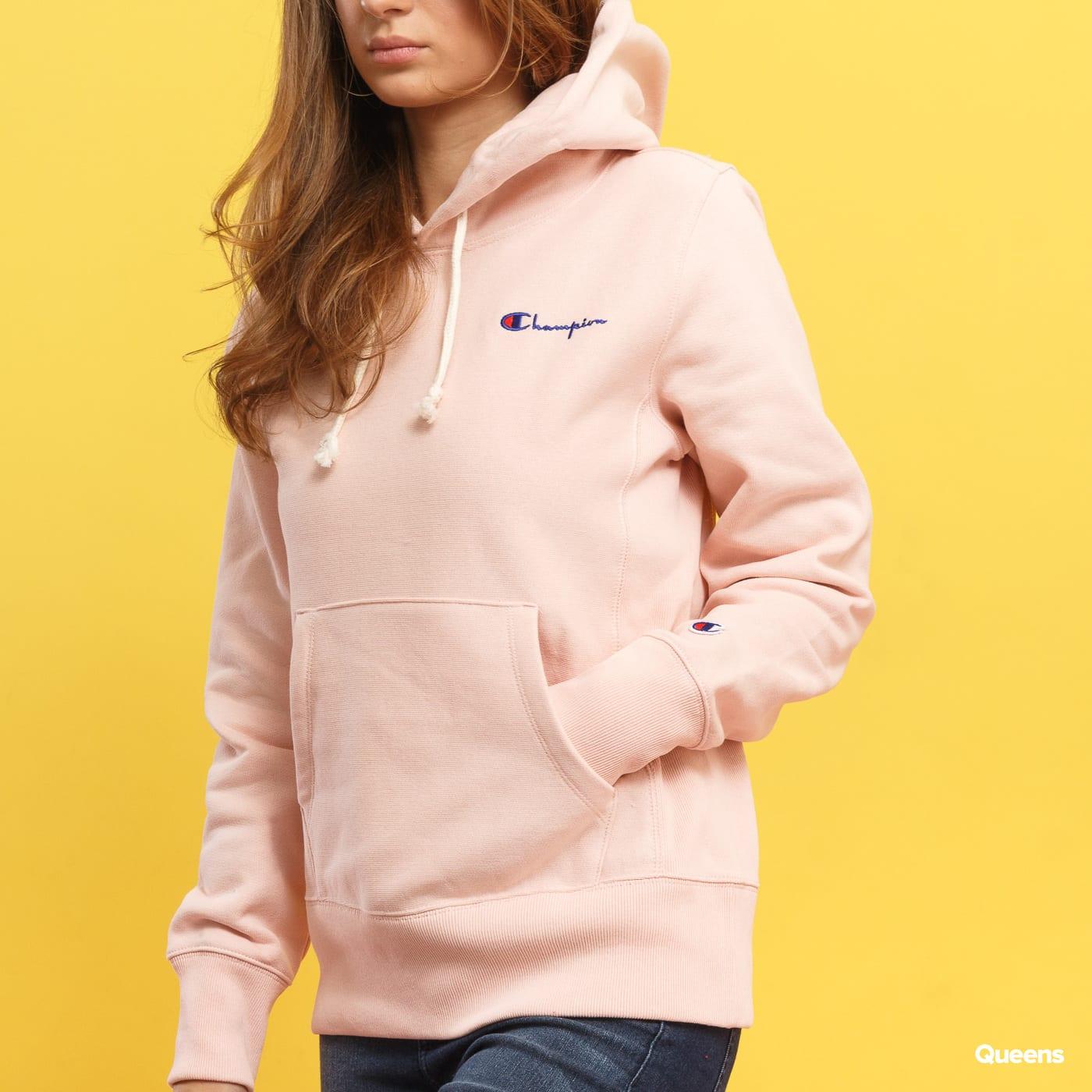 Champion Hooded Sweatshirt rosa