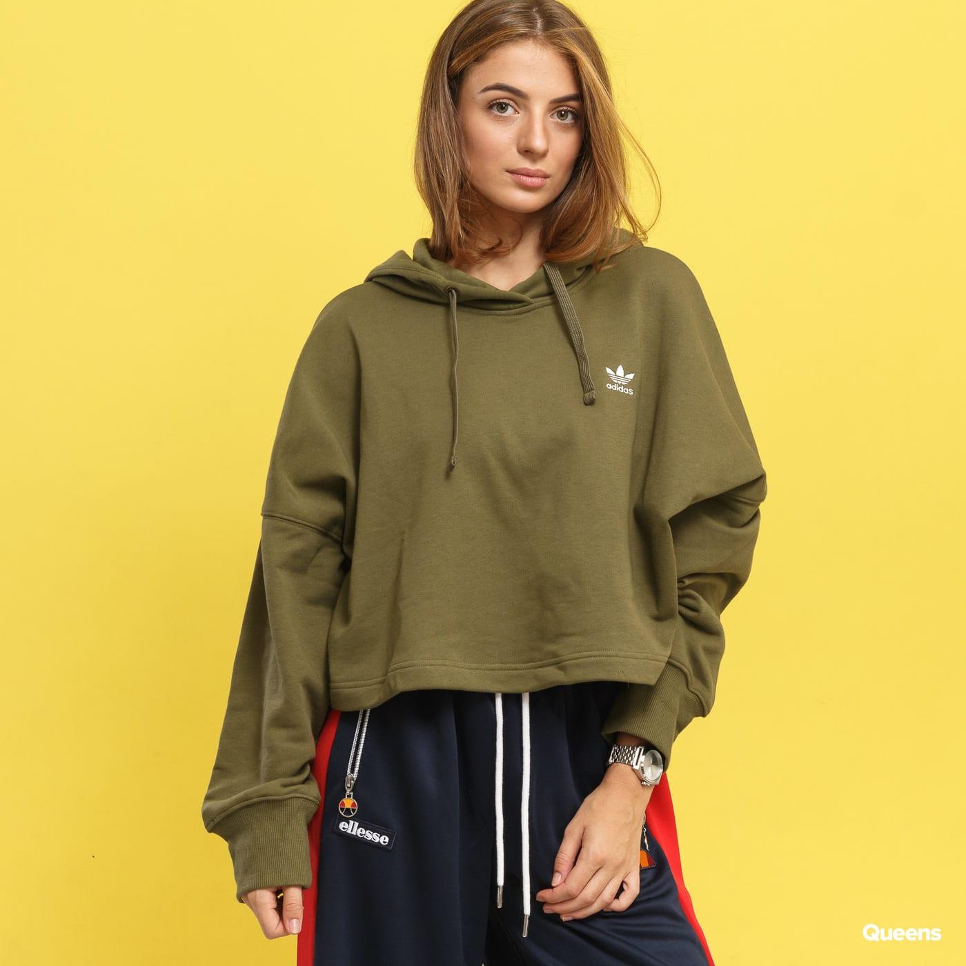 Dámská mikina adidas Originals SC Cropped Hoodie (DH2760) – Queens 💚 dfe072282b
