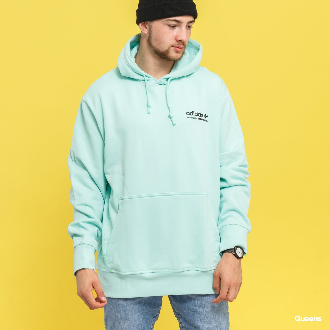 sells hot sale best prices adidas Originals Kaval OTH Hoody light blue