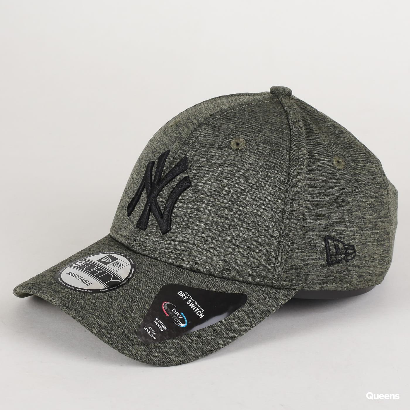 New Era 940 MLB Dry Switch NY melange olivová