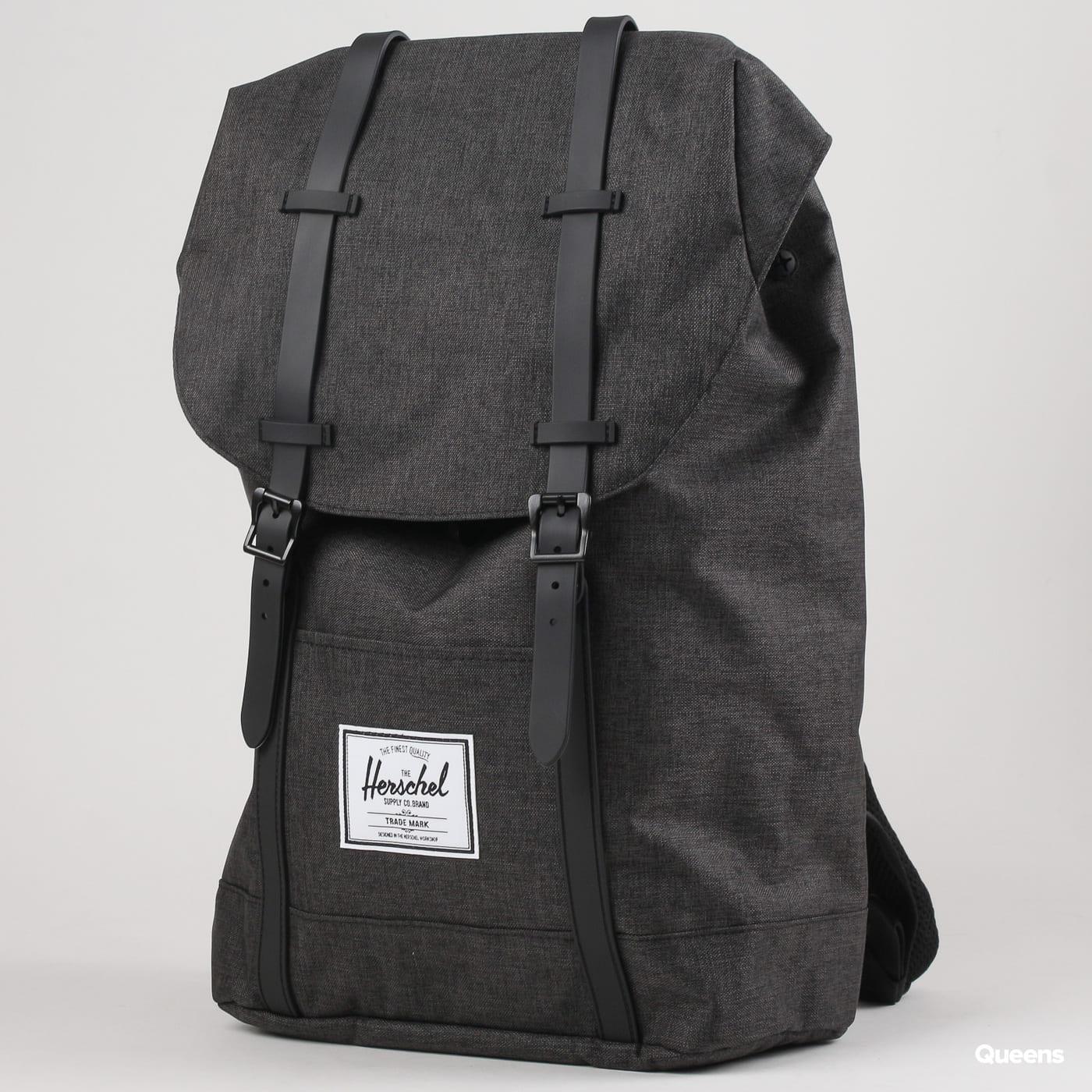 The Herschel Supply CO. Retreat Backpack melange čierny